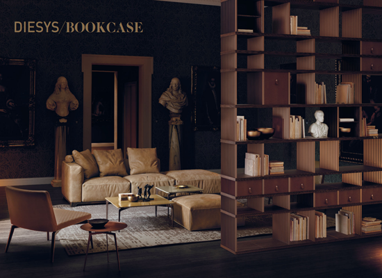 Backstage Bookcase