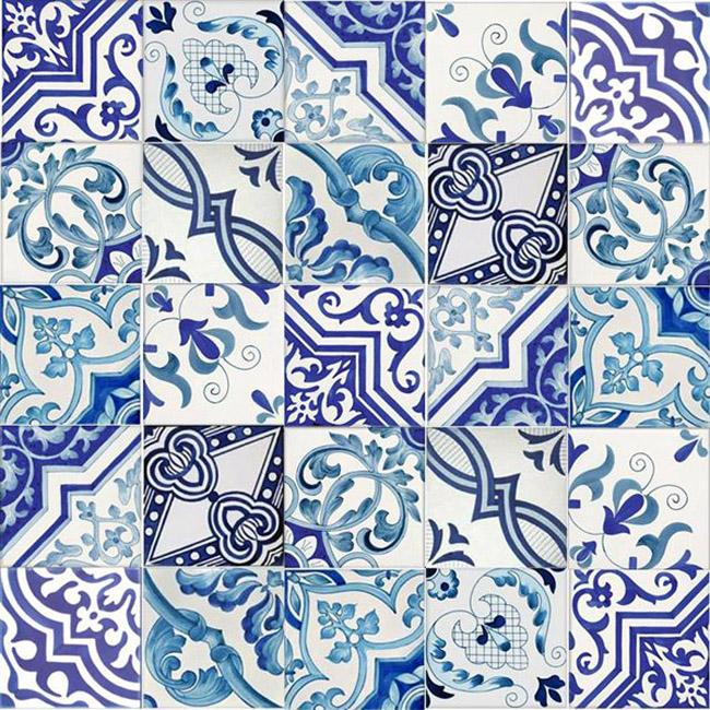 Ceramica Vietrese Melamge '800
