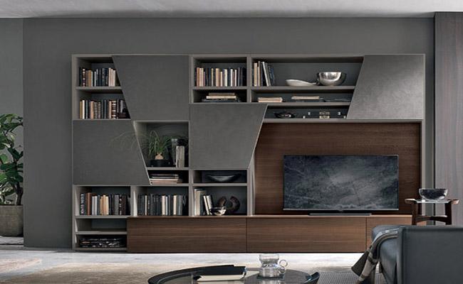 Moderno Giorno Scaffali e librerie 3